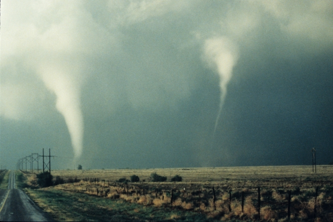 NOAA_two_tornadoes